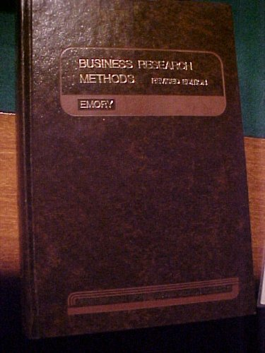 9780256022605: Business Research Methods