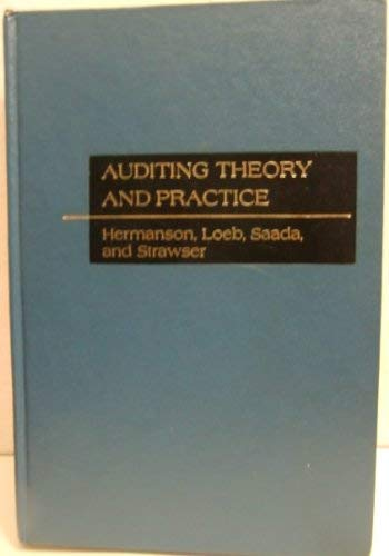 Auditing Theory and Practice: Stephen E. Loeb;