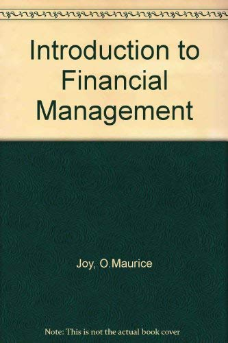 9780256023404: Introduction to financial management