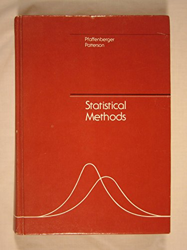 9780256023503: Statistical Methods for Business and Economics (The Irwin series in quantitative analysis for business)