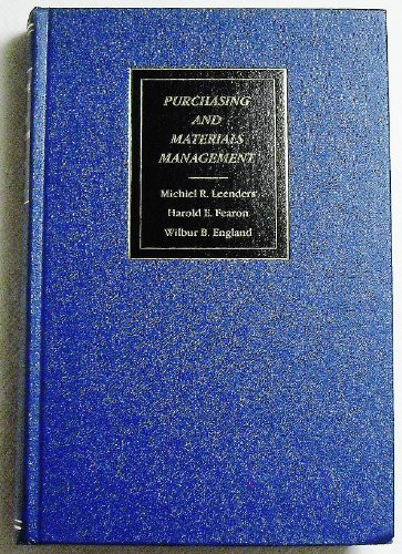 9780256023749: Purchasing and materials management