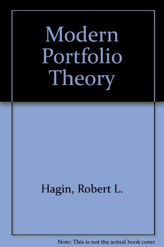 The Dow Jones-Irwin Guide to Modern Portfolio Theory: Hagin, Robert;Dow Jones-Irwin