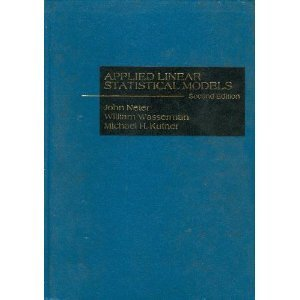 9780256024470: Applied Linear Statistical Models