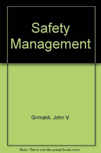Safety Management: John V. Grimaldi,