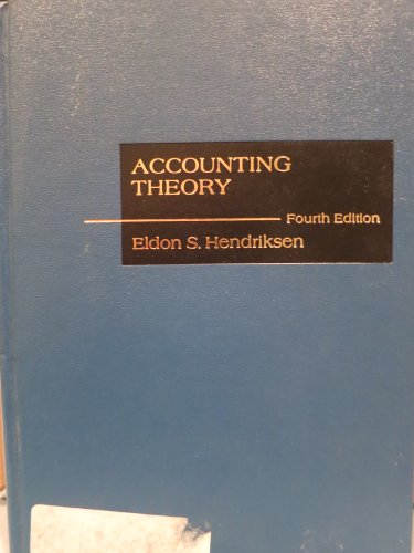 9780256025880: Accounting Theory (The Willard J. Graham series in accounting)