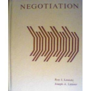 9780256026337: Negotiation