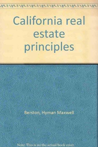 9780256027259: California real estate principles