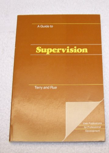9780256027471: Guide to Supervision