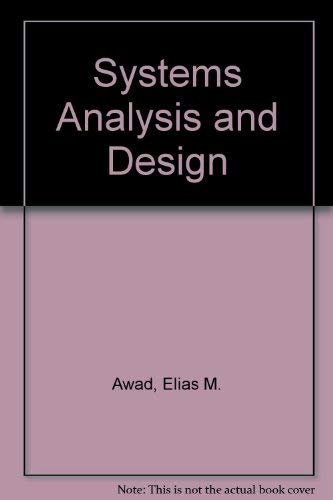 Systems Analysis and Design. Second Edition.
