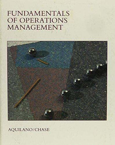 9780256028300: Fundamentals of Operations Management