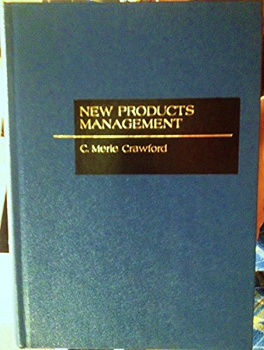 9780256028454: New products management (The Irwin series in marketing)