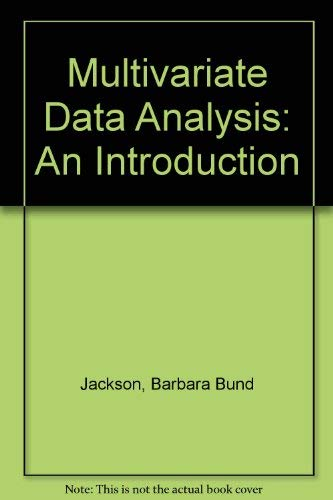 9780256028485: Multivariate Data Analysis: An Introduction (The Irwin series in marketing)