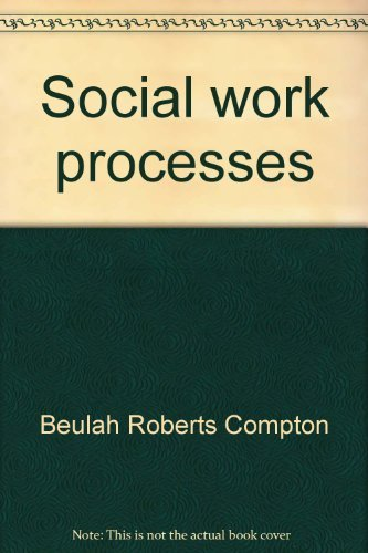 9780256028669: Social work processes (The Dorsey series in social welfare)