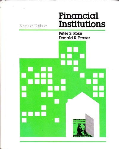 9780256028829: Financial institutions