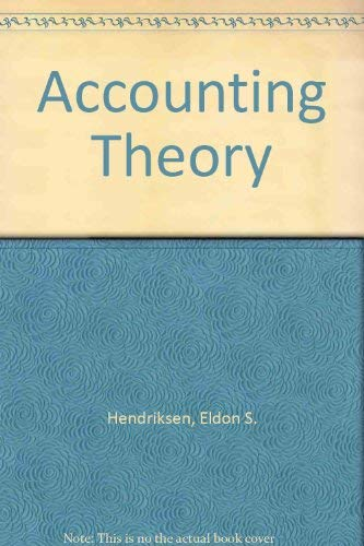 9780256029055: Accounting Theory