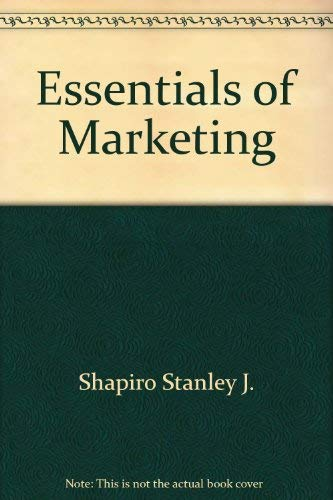 9780256029413: Essentials of marketing