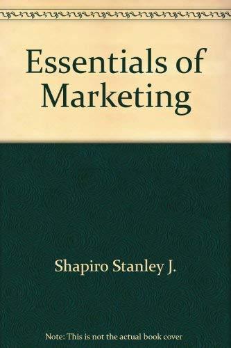 Essentials of marketing: McCarthy, E. Jerome
