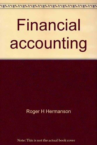 9780256030631: Financial accounting