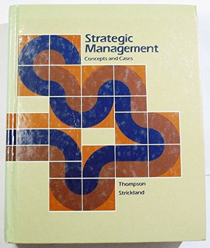 9780256030778: Title: Strategic management Concepts and cases
