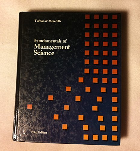 9780256030785: Fundamentals of management science