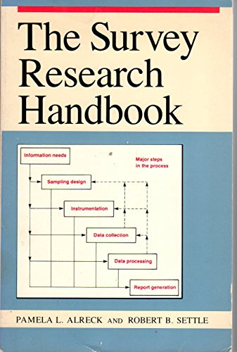 The Survey Research Handbook: Alreck, Pamela L. And Robert B. Settle