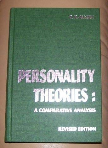 9780256032451: Personality theories: A comparative analysis