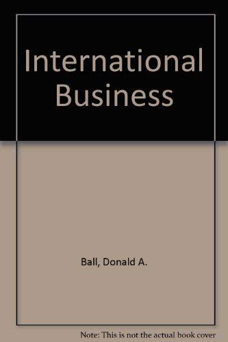 9780256032529: International Business