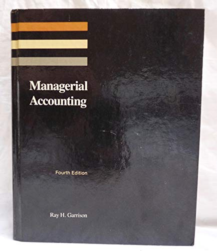 9780256032611: Managerial Accounting: Concepts for Planning, Control, Decision Making