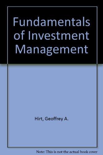 9780256033557: Fundamentals of Investment Management