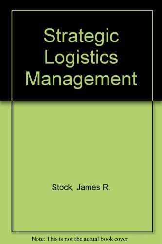 9780256033731: Strategic Logistics Management