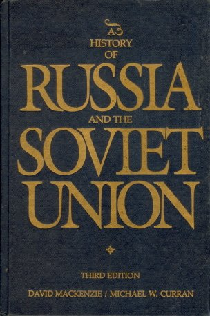 9780256033885: A history of Russia and the Soviet Union