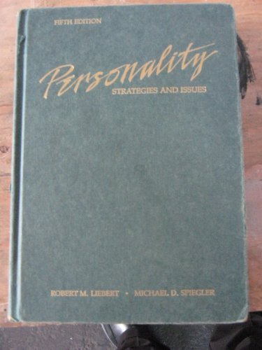 9780256033977: Personality: Strategies and issues