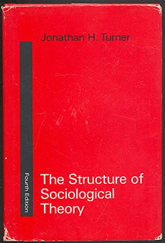 9780256034080: The Structure of Sociological Theory