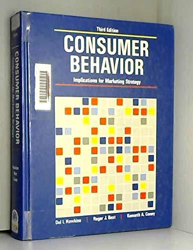9780256034141: Consumer Behavior