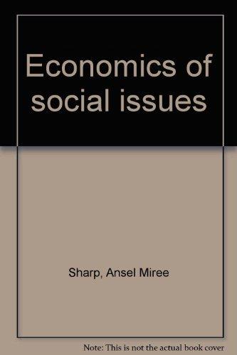 9780256034271: Economics of social issues