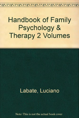 9780256034875: The handbook of family psychology and therapy