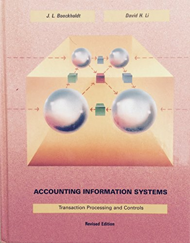 9780256035759: Accounting Information Systems: Transactions and Processing Controls