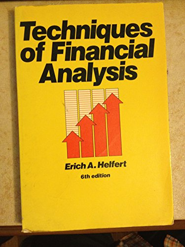 9780256036251: Techniques of Financial Analysis