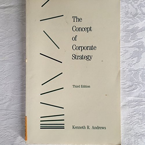 9780256036299: Concept of Corporate Strategy