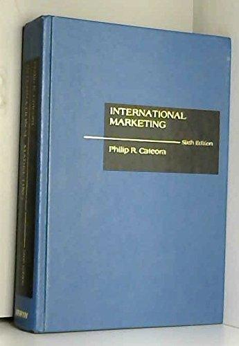 9780256036404: International Marketing
