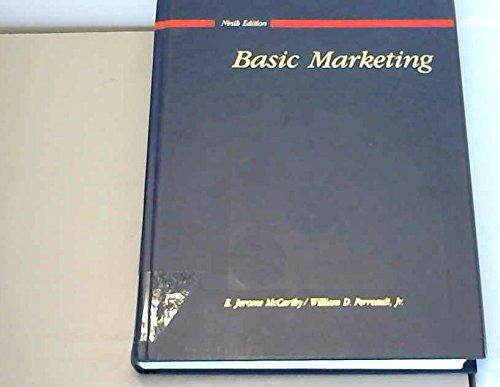 9780256036497: Basic Marketing