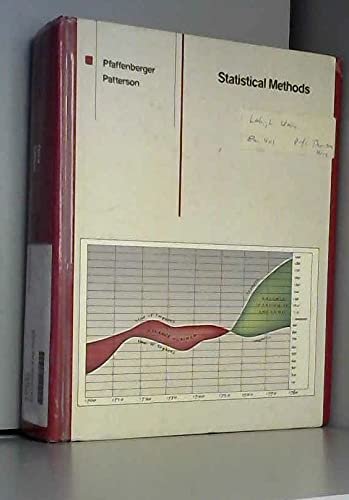 9780256036640: Statistical methods for business and economics (The Irwin series in quantitative analysis for business)