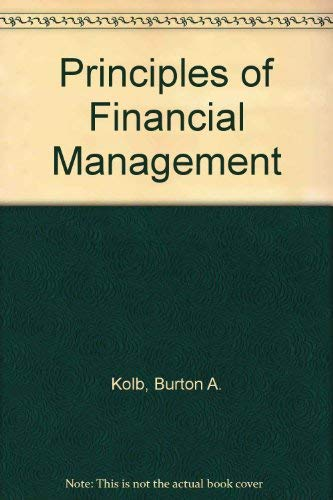 9780256036992: Principles of Financial Management