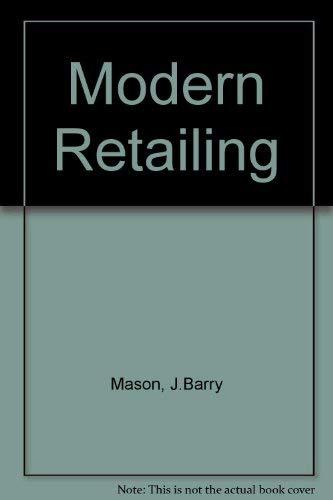 9780256037067: Modern Retailing