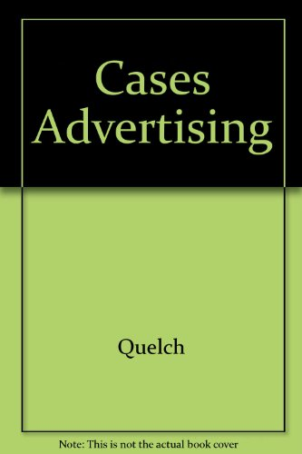 9780256037135: Cases in advertising and promotion management