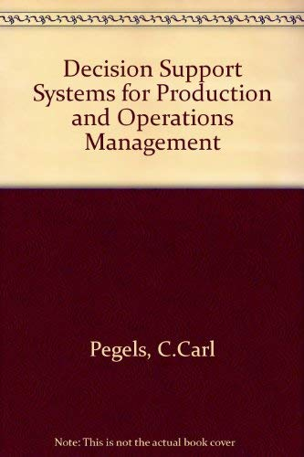 Decision Support Systems Production Operation Management (The: Vahid Lotfi