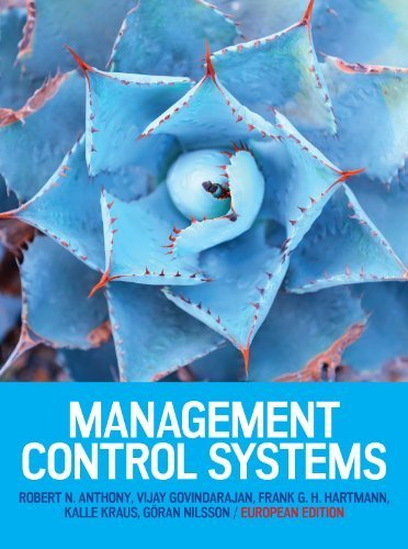 Management Control Systems Sixth Edition: Robert N. Anthony,