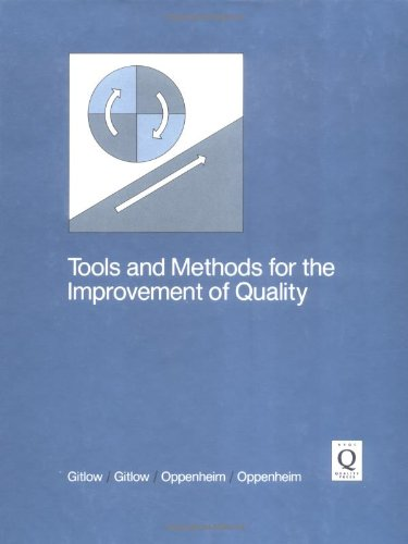 9780256056808: Tools and Methods for the Improvement of Quality (Irwin Series in Quantitative Analysis for Business)
