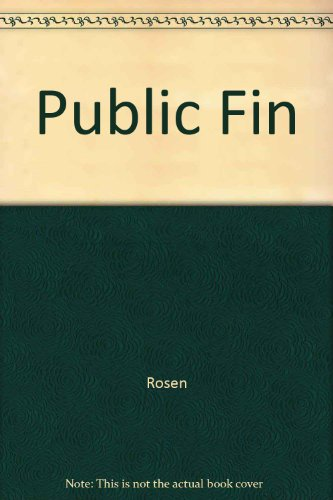 9780256058086: Public Finance (Irwin Publications in Economics)