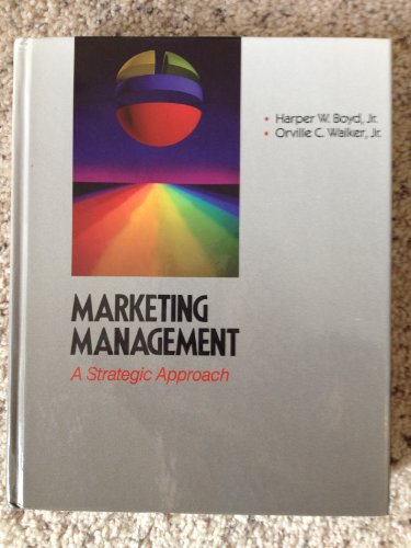 9780256058277: Marketing Management: A Strategic Approach